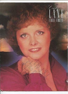 Cristy Lane Country Music Singer One Day At A Time Signed Autograph Ph