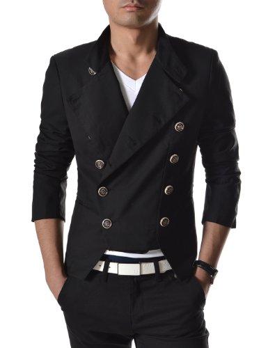 (NJK4) TheLees мужские двубортный тонкий пиджак…