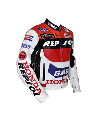 Honda Repsol Racing Leather Jacket (Clearance Sale) (Honda Repsol Jacket compare prices)