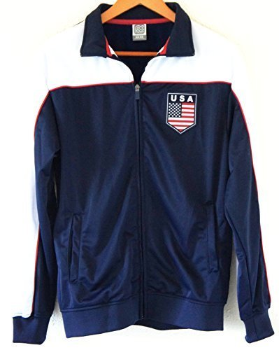 Soccer Team USA Adult Fashion Soccer Track Jacket NAVY by Soccer Fashion Jersey günstig kaufen