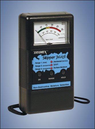 SMP Tramex Non-Destructive Skipper Plus Analog Marine Moisture Detector, Range: 5% to 30% on Hard Wood Moisture Content