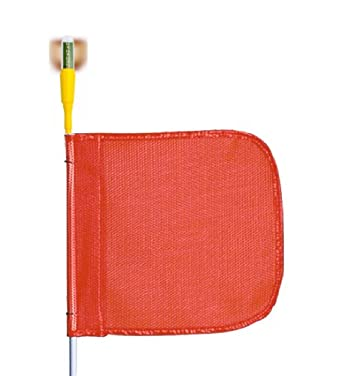 Flagstaff G5 Safety Flag with Flashing Light, Threaded Hex Base