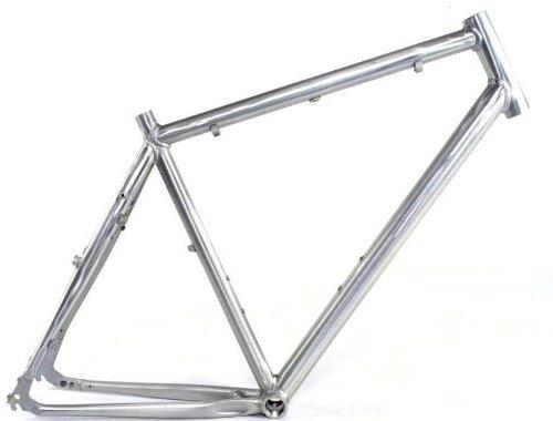 28″ Steppenwolf Alu Herren Trekking Fitness Fahrrad Rahmen RH55 Disc unlackiert