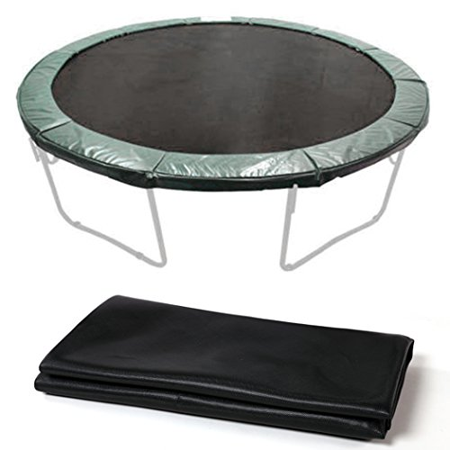 Gracelove-New-Black-124-Jumping-Mat-for-14-Trampoline-Replacement-72-Rings