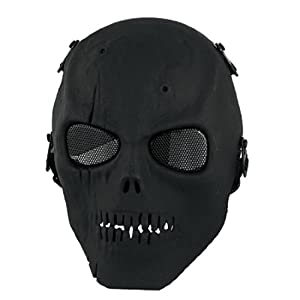 Amazon.com : uxcell Adult Black Metal Wire Mesh Eyes Foam Padded Nose