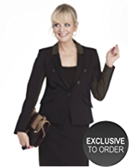 Twiggy for M&S Collection Shimmer Panel Jacket