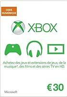Carte Xbox Live de 30 EUR [Code Digital - Xbox Live]