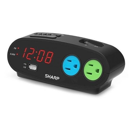 Sharp Outlet Alarm Clock (Sharp Alarm Clock Outlets compare prices)