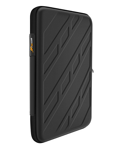 roocase iPad Air 2 Exec Case - Orb System Portfolio EVA Case 360 Rotating Detachable Shell Cover for Apple iPad Air 2 (2014) 6th Generation - Stand Support Landscape, Portrait & Typing View, Black