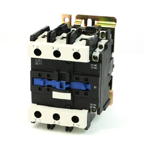 Amico Motor Control AC Contactor AC-3 45KW 125A 3P 3 Pole 110 Volts Coil