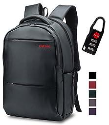 Lapacker Shockproof Slim Lightweight Water Resistant Laptop Backpacks for Men 17 inch Bussiness Computer Backpacks