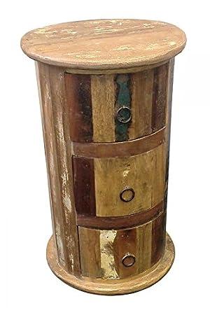Cassettiera a 3cassetti in legno reclamied