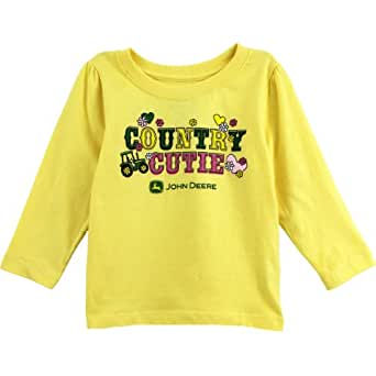 John deere toddler yellow t shirt ftl870y for John deere shirts for kids