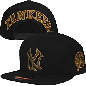 New York Yankees MLB Blockhead Camouflage Snapback Hat by American Needle