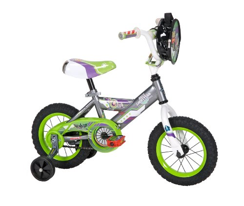 Huffy Boy's Disney Toy Story Bike, 12-Inch, Grey