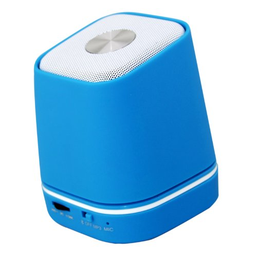 Jgmaxtm Wireless Portable Mini Bluetooth Speaker Music Player Hand Free For Ipod Iphone Ipad Android And All Bluetooth Enabled Device (S16 Blue)