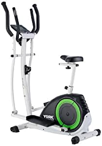 York Active 120 2-in-1 Cycle Cross Trainer - Black