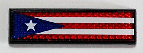 Puerto Rico Reflective Decal Bumper Sticker 3 (Puerto Rico Auto Decals compare prices)
