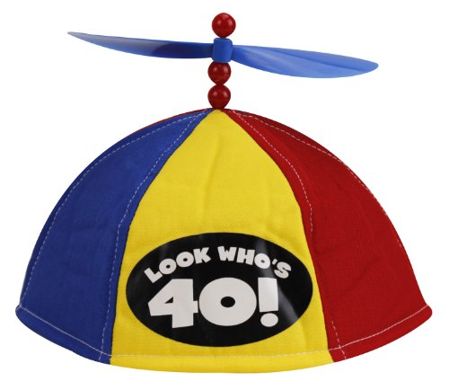 BigMouth Inc Look Who's 40 - Propeller Beanie - 1