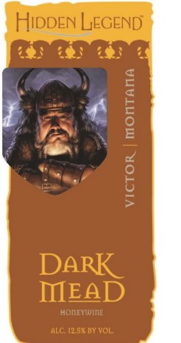 NV Hidden Legend Dark Mead 750 mL Picture