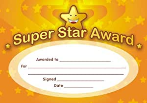 Super Star Certificates