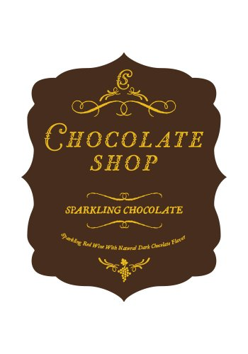 Nv Chocolate Shop Sparkling Chocolate 750 Ml