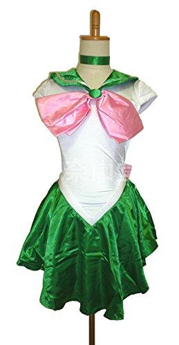 美少女戦士 セーラームーン コスプレ 衣装 (ジュピター, M)