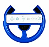 Official Nintendo Wii Comfort Racing Wheel - Blue