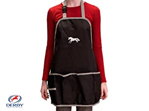 Heavy Duty 600D Ripstop Horse Embroidered Grooming Apron