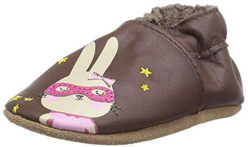 Robeez Girls' Caped Cuties Slip-On, Brown, 6-12 Months M US Infant