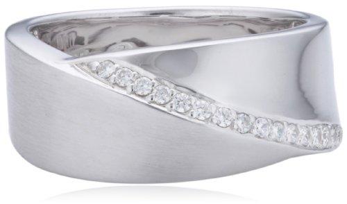 Viventy Damen-Ring 925/-Sterling Silber 17 Zirkonia 760171
