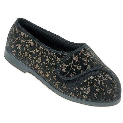 Cheap GBS Nola Extra Wide Fit Ladies Slipper / Womens Slippers (B009BFNX0Y)