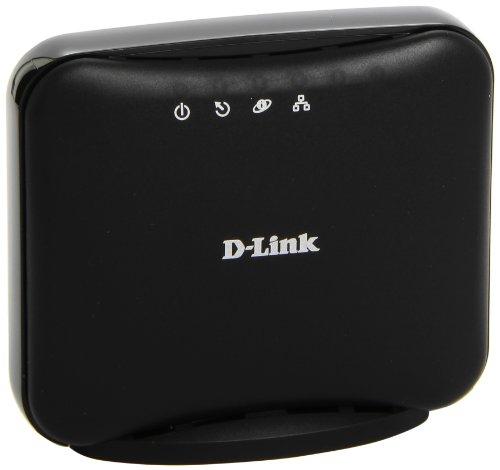 D-Link Modem DSL-320B ADSL2+ Interfaccia Ethernet, ADSL RJ-11, LAN Ethernet 10/100BASE-TX con Funzione Auto MDI/MDIX