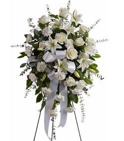 Flowershop – Sentiments of Serenity Funeral Spray