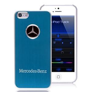 Iphone 5 mercedes benz metal premium case for Mercedes benz accessories amazon