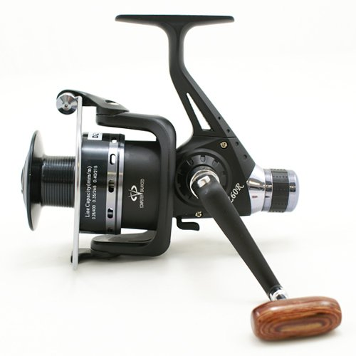 fishing tackle DZ60R DELUXE 5+1BB BLACK COARSE FISHING REEL