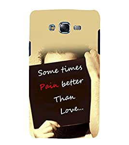 printtech Cool Quotes Success Life Back Case Cover for Samsung Galaxy J7 (2016 EDITION)