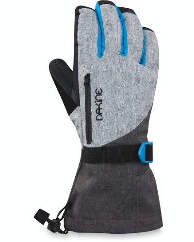 Dakine Women's Sequoia Gloves, Silver Chambray, Medium