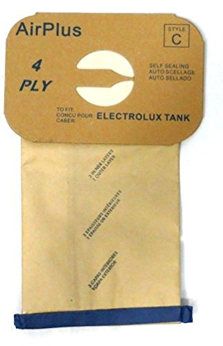 Package of 12 Replacement Aerus / Electrolux Type C Bags (Vacuum Bags Aerus compare prices)
