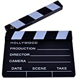 Neewer® 8''X7''/20cm X 17cm Wooden Director's Film Movie Slateboard Clapper Board