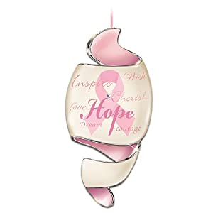 """The """"Journey Of Hope"""" Diamond And Porcelain Ornament by The Bradford Exchange"""