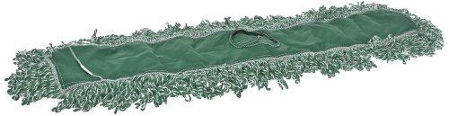 Rubbermaid Commercial Fgj85500Gr00 Microfiber Blend Looped-End Dust Mop, 36-Inch, Green