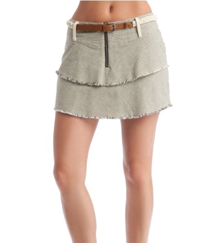 G by GUESS Crandell Twill Railroad Skirt