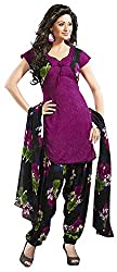 Offo*com Women's Synthetic Dress Material (1063)