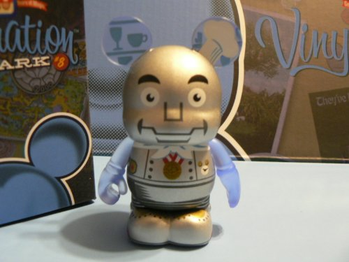"NEW Disney Vinylmation Park 8 Horizons Robot Chef 3"" inch Figure NEW LOOK - 1"