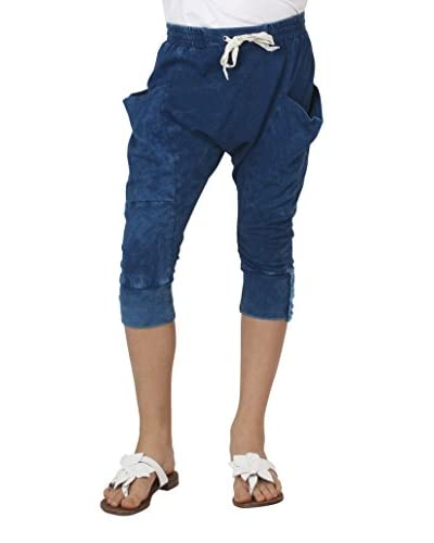 MEK Pantalone Capri [Blu]