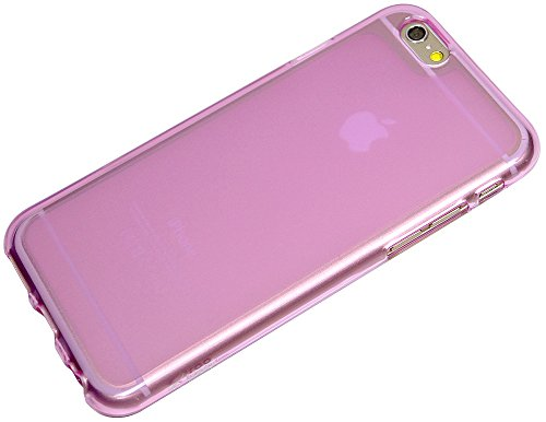 Iphone6 Case, Apple Iphone 6 Matt Aqua, Mobile Soft Jelly Case - Retail Packaging (Baby Pink) front-52192