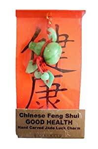 Chinese Feng Shui Jade Lucky Charm Good