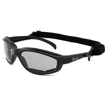 Choppers Masque et Lunettes de Soleil - Multisports - Vtt - Ski - Moto - Voile - Conduite - Moto / Mod. Stunt Clear / Taille Unique Adulte / Protection 100% UV400