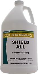 Flo-Kem 1293 Shield All Silicone Multi-Purpose Cleaner/Polish with Lemon Scent, 1 Gallon